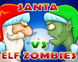 Play Santa vs Elf Zombies