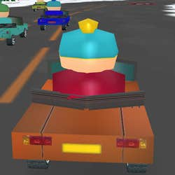 Play SouthPark Race 3D