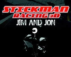 Play Stickman Racing 3D