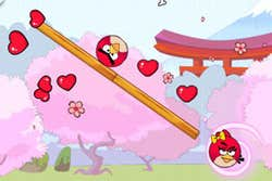 Play Angry Birds Lover