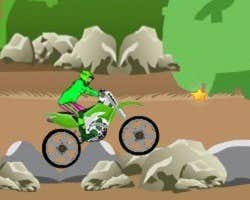 Play Motorbike Obstacles
