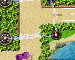 Play Tower Defense Car Parking