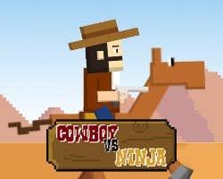 Play Cowboy vs Ninjas