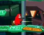 Play Poopooman gun battle