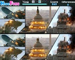 Play White house down-Spot the difference