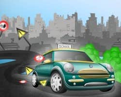 Play Driving School Exam