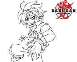 Play Bakugan Coloring Book
