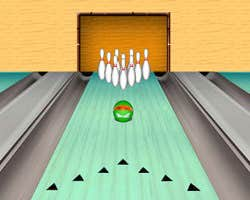 Play Bowling Ninja Turtles