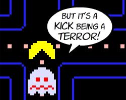 Play Psychopath Pac-Man