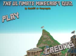 Play The Ultimate Minecraft Quiz
