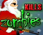 Play Santa Kills Zombies 3