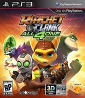 Play Ratchet & Clank All 4 One: 8-Bit Minimayhem