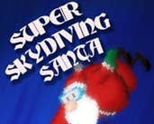 Play Super Skydiving Santa