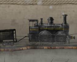 Play Cargo Steam Train