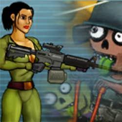 Play Nora vs Zombies