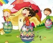 Play Hidden Words - Easter Game