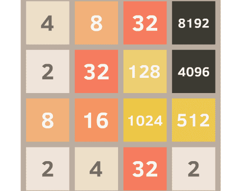 Play 2048 Analyze