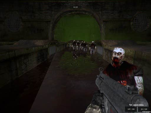 Play Zombie Sewer