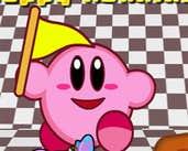 Play Kirby Happy Running