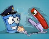 Play Bucket Cop