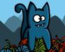 Play Bronko Blue, the kitten copter