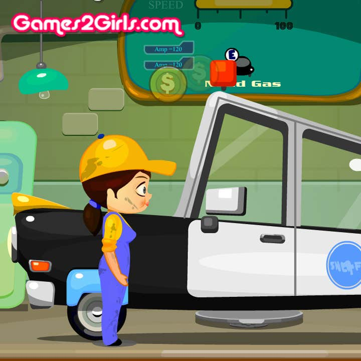 Play Garage Rush