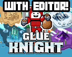 Play Glue Knight 1.3 + Editor