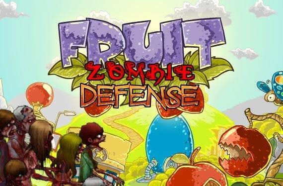 Play Fruit Zombie Defense