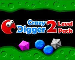 Play Crazy Digger 2 Level Pack