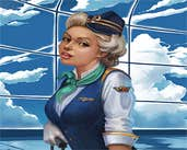 Play Find Differencess : Stewardess