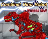 Play Combine! Dino Robot - Tyranno Red