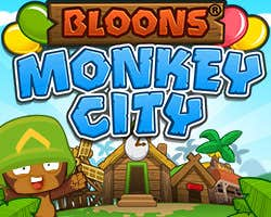 Play Bloons Monkey City