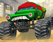 Play  Ninja Monster Trucks