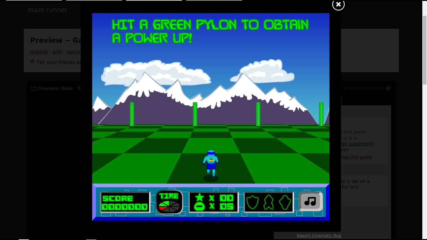 Play maze runner
