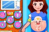 Play Mom Give Birth Newborn Baby