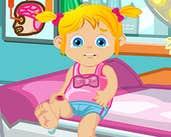 Play Baby Ella Hurts Her Leg