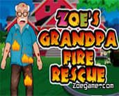 Play Zoe's Grandpa Fire Rescue