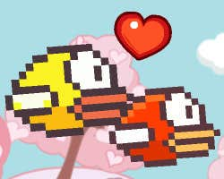 Play Flappy Bird Valentines Day Adventure
