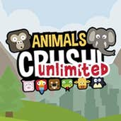 Play Animals Crush Unlimited