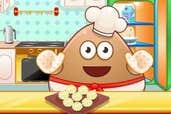 Play Pou Cooking Raffaello