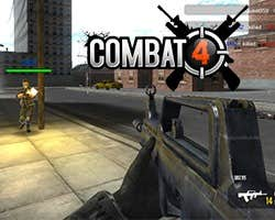 Play Combat4 FPS Multiplayer