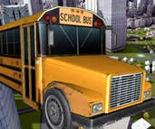 Play School Bus Driver 3D
