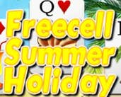 Play Freecell Summer Holiday