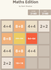 Play 3072 Maths Edition (Fun maths tile puzzle game)