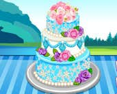 Play Anna Wedding Cake Contest
