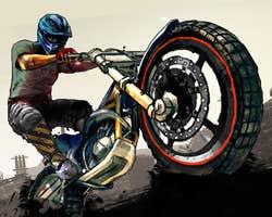Play Wasteland Bike Trial