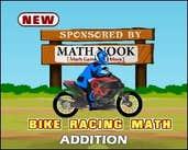 Play Bike Racing Math Addition