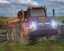 Play Dump Truck 3D Racing