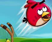 Play Angry Birds Sling Shooter