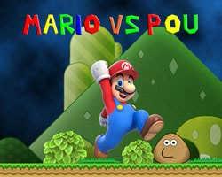 Play Super Mario vs Pou